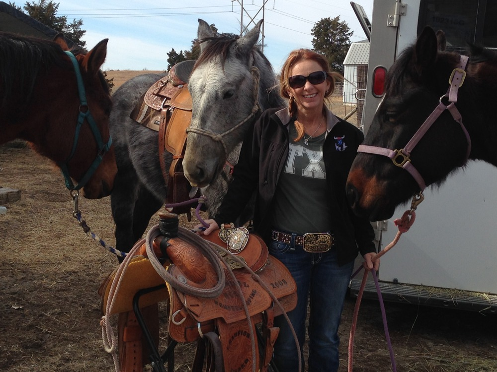 With an enviable record of winning in team roping, Diane Haffener at the D-Bar Arena near St. George has dedicated her life to training horses and riders.
