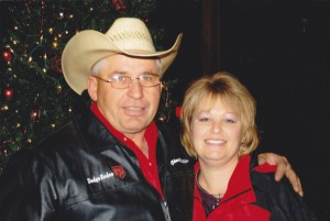 Chuck and Regan McKellips own C.R. McKellips Rodeo Company, Raymore, Missouri, supplying livestock for rodeos throughout the Midwest, including the Santa Fe Trail Rodeo planned May 17-18 at Burlingame.