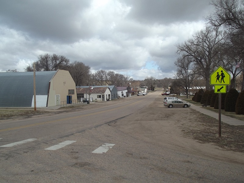 Main Street is still alive in Arthur, Nebraska, which has 117 residents. Forty miles from another community, Arthur is the only town and county seat of Arthur County, the least populated county in Nebraska. There are the 460 people in the county, mostly ranchers, who depend on Arthur for commodity essentials. (Photo by Ron Jageler.)