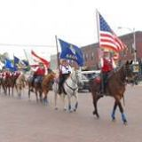 The Kansas Pride and Glory Riders will present a flag ceremony to background music honoring veterans and servicemen during the open house Sunday, April 26, at the B&C Equine Rescue, Inc., Carbondale,  in celebration of the ASPCA (American Society for the Prevention of Cruelty to Animals) Help A Horse Day.
