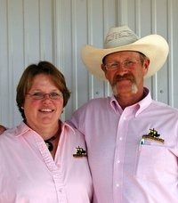 Pastor Terry and Sheila Newell