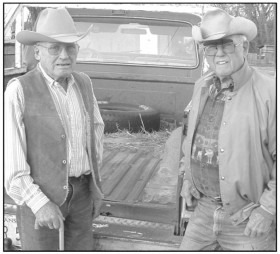 Inducted into the Kansas Cowboy Hall of Fame at Dodge City Saturday, Bob Alexander and Wayne Alexander of Council Grove reminisced a few years ago about their lives as real cowboys.