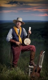 Known as the Original Kansas Cowboy Minstrel, Zerf will entertain with songs and stories of the Wild Kansas frontier during the Paxico First Friday Antique and Art Walk, April 4. Additional events for the Wabaunsee County community's Kansas Flint Hills & Cowboy Culture program continue on Saturday, April 5.