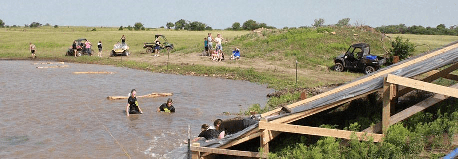 Obstacles in the second annual Cross Country Chaos 5K fundraising mud run last year on Perry Thompson's Osage City farm attracted participates from a wide array of life for the fun activity serving as a fundraiser for the Osage County Community Foundation. This year's third annual Cross Country Chaos is scheduled Saturday, June 13.
