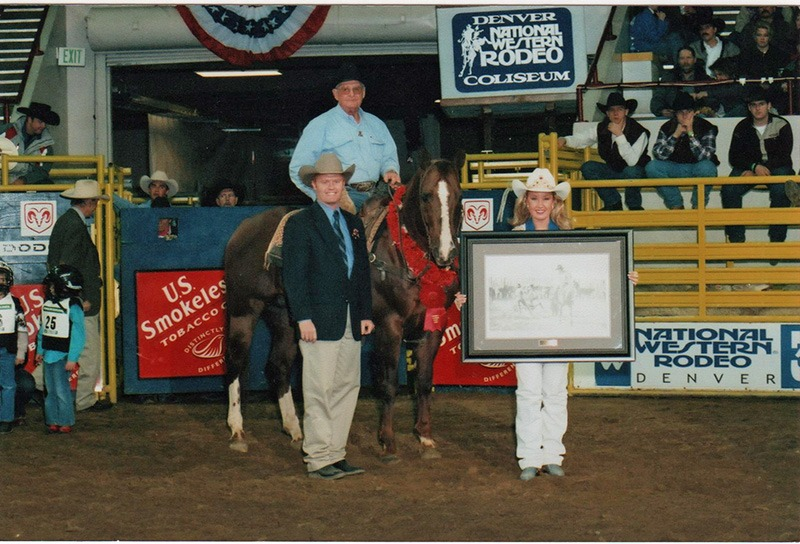 Bill James of Abilene rode 3J Colonel to be the ranch horse versatility champion two years at the National Western Livestock Show in Denver, and the Quarter Horse stallion was inducted into the National Western Hall of Fame.