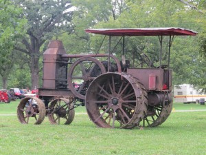 There will be a drawing for a restored Leader 1949 model D tractor to given away at the Power of the Past Antique Engine And Tractor Show Friday, Saturday and Sunday, Sept. 11-12-13, at Forest Park, 302 North Locust, in Ottawa.