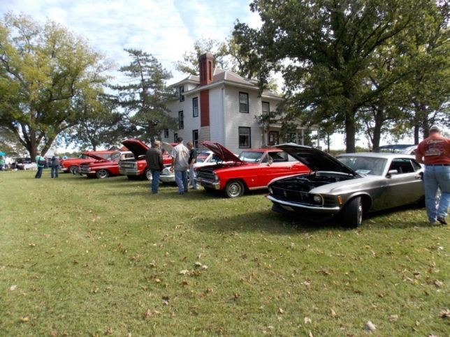 Classic cars along with antique tractors from afar are coming as part of a full afternoon slate of entertaining, educational and fun for all activities set for the Pioneer Bluffs Fall Festival, just north of Matfield Green, Kansas, on Saturday, Oct. 3.