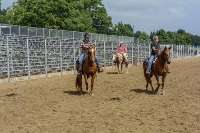 Blackjack Saddle Club hosts horse related activities throughout the year at Manhattan with two special events still planned this year, on October 24, and November 7.