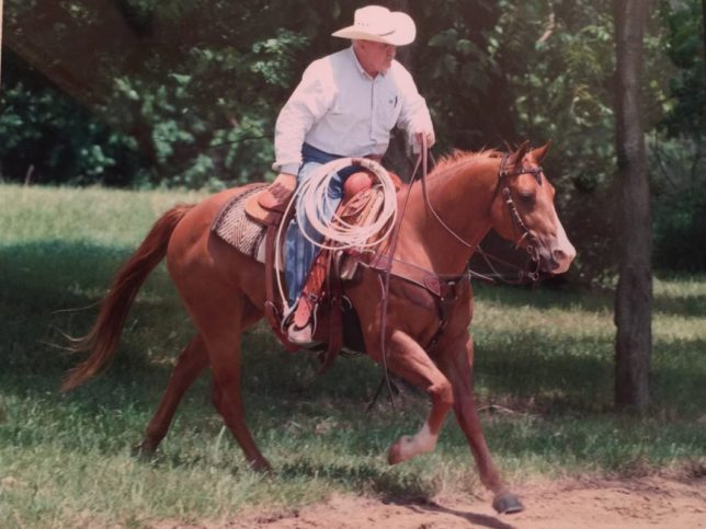 Brainchild of the Ultimate Horsemen's Challenge Association and most active leader of the family-oriented horsemanship group is Scott Simms, lifelong cowboy now headquartered at Butler, Missouri.