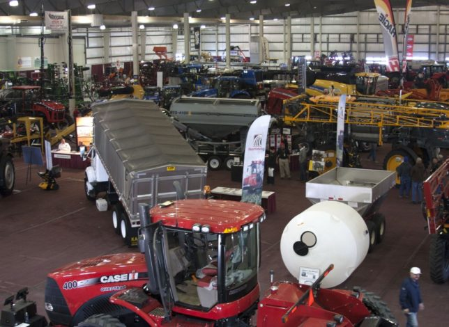 More than 2,284 booths, including 60 new exhibitors, will be featured for the  ninth annual Nebraska Power Farming Show, December 8-9-10, at the Lancaster Event Center, Lincoln, Nebraska.