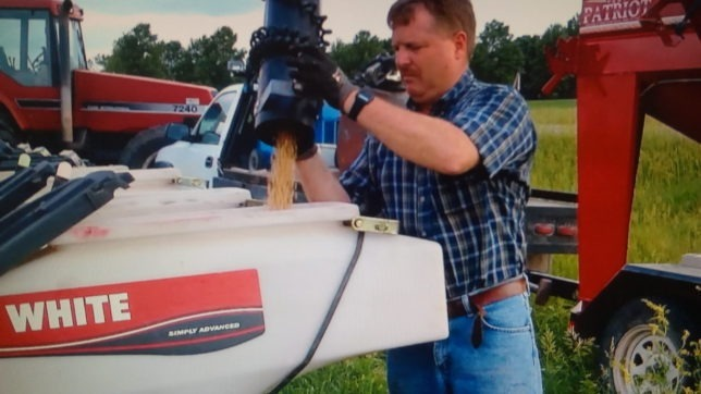 """Despite being the harsh heart of winter, spring days are not far off, according to Raylen Phelon, lifelong Melvern farmer, who said his White planter has """"fantastic seed placement, which has reduced replanting and increased production."""""""