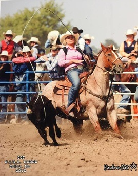 Casey Adams, senior, K-State Rodeo Team member, is 12th in breakaway roping event in the Central Plains Region of the National Intercollegiate Rodeo Association after the fall series, and will be competing in that event and also team roping at the annual K-State Rodeo, February 19-20-21, at Manhattan, looking to qualify for the National College Rodeo Finals.
