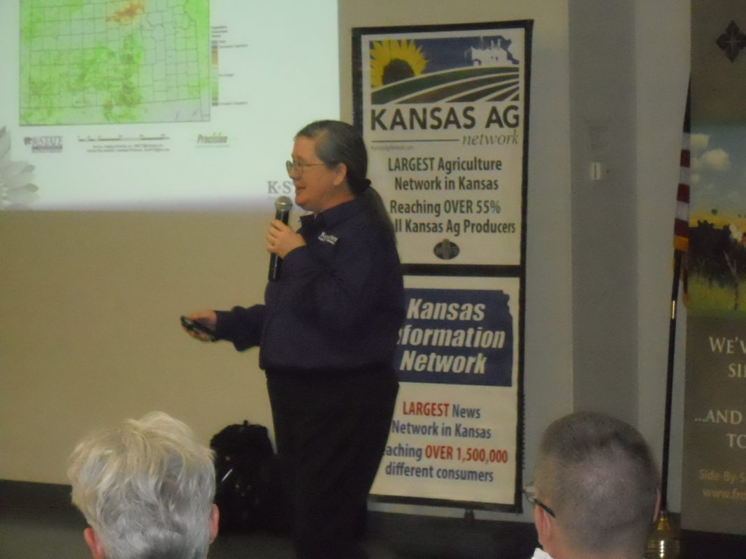 "Speaking to a farm-ranch crowd at Madison for the Farm Profit Conference last Thursday evening Mary Knapp, assistant state climatologist from Kansas State University at Manhattan gave what most attendees viewed as a ""positive weather outlook."""