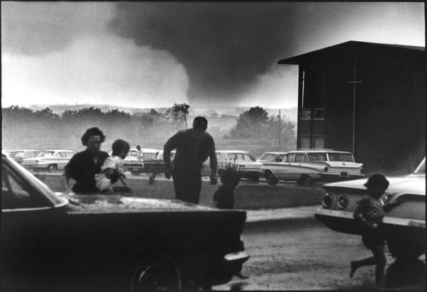 On June 8, 1966, an F5 tornado ripped through Topeka, killing 17 people, and more than 500 were injured.