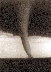 A tornado at Udall in Cowley County in May 1955 was the deadliest in the state's history killing 80 people, and injuring 200.