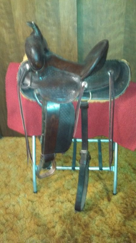 Hamley Saddle Custom Made 97 Years Ago Restored With Special