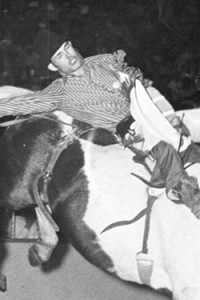 Champion cowboy-country singer Chris LeDoux was the world champion bareback bronc rider in 1977, and sold millions of copies of his recordings featuring the cowboy life.