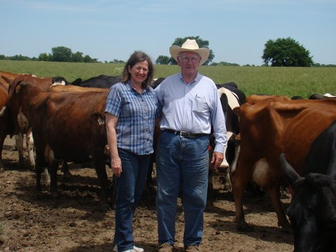 Lu Ann and Carl Nichols find a crossbred cowherd proves advantageous to profitability for their Anderson County grade-A dairy.