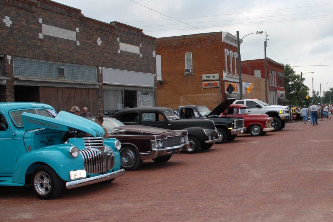 """Madison, Kansas, """"The Hidden Valley of the Flint Hills, in northern Greenwood County will come alive as three-day-population explodes for the annual Madison Days celebration this weekend, June 10-11-12."""