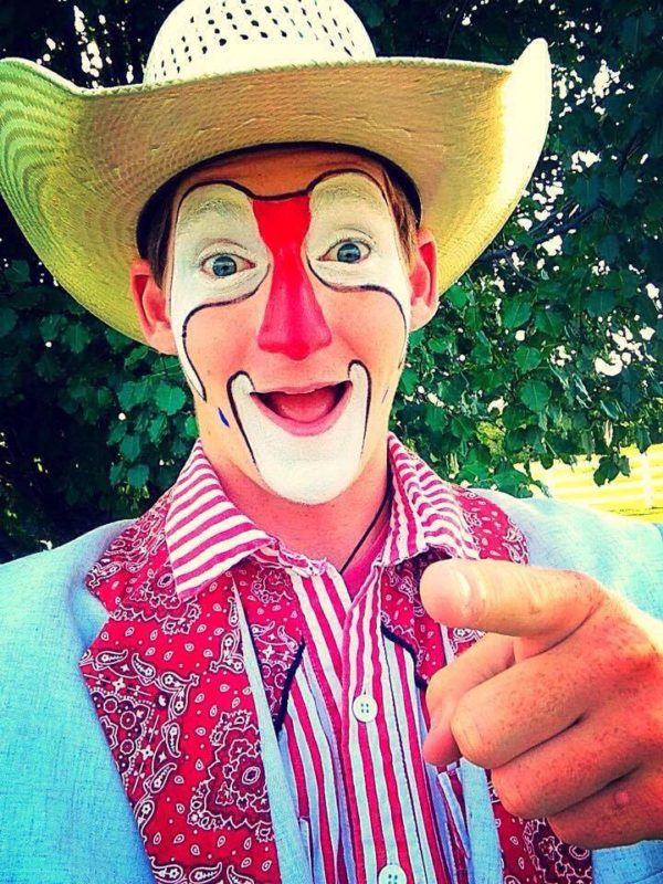 Rodeo clown-funnyman-trick roper Dalton Morris will entertain at the fourth annual Circleville Saddle Club Rodeo, July 29-30.