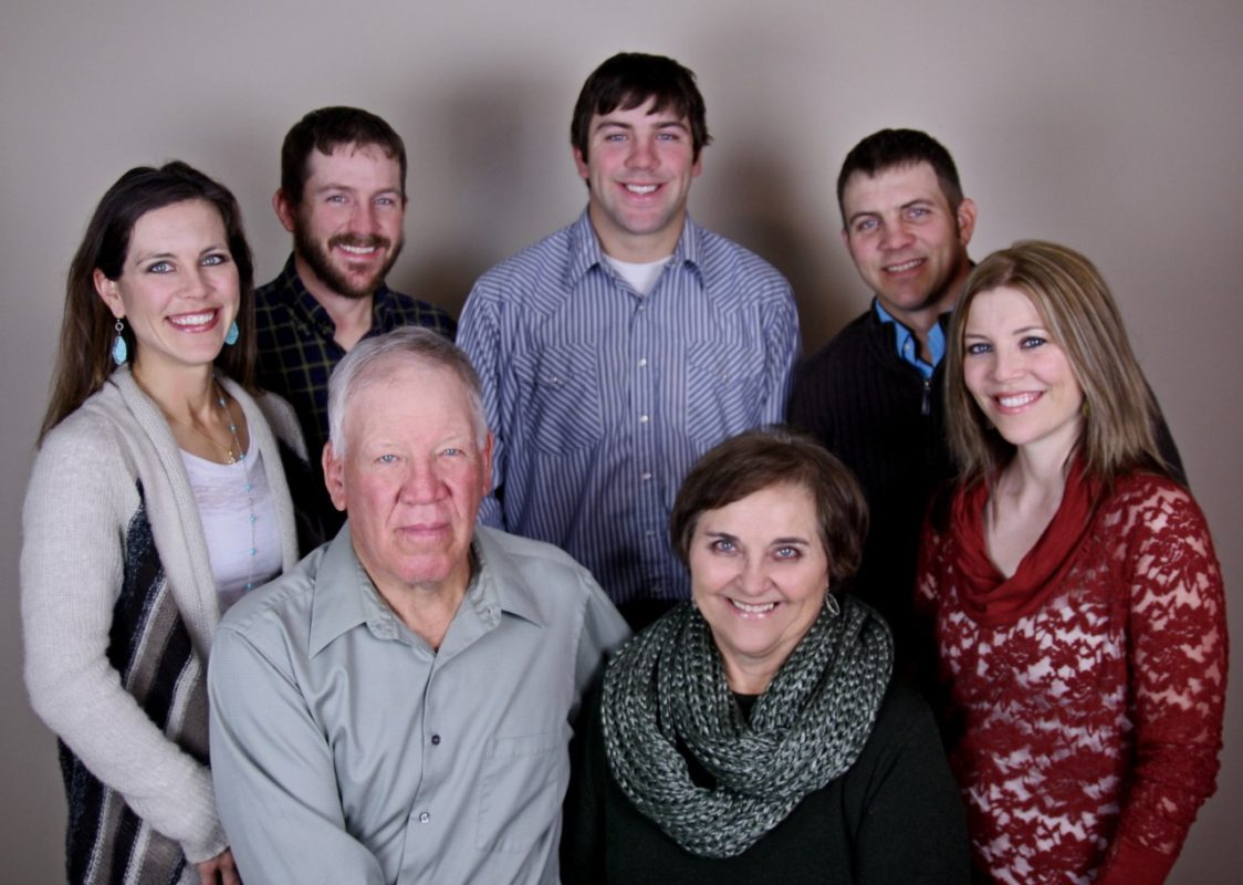 Appreciation for Flint Hills life is most apparent in Olpe ranchers Carl Lee and Marilyn Stueve and their children Lana Ritchie, Raylen Stueve, Linden Stueve, Braden Stueve, and Lea Taylor.