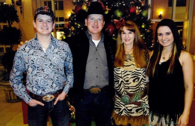 Rodeo is a family affair for the Wisemans at Paola. All achieving accolades in the rodeo arena are Logan Wiseman, Kevin Wiseman, Mandy Wiseman and Paige Wiseman.
