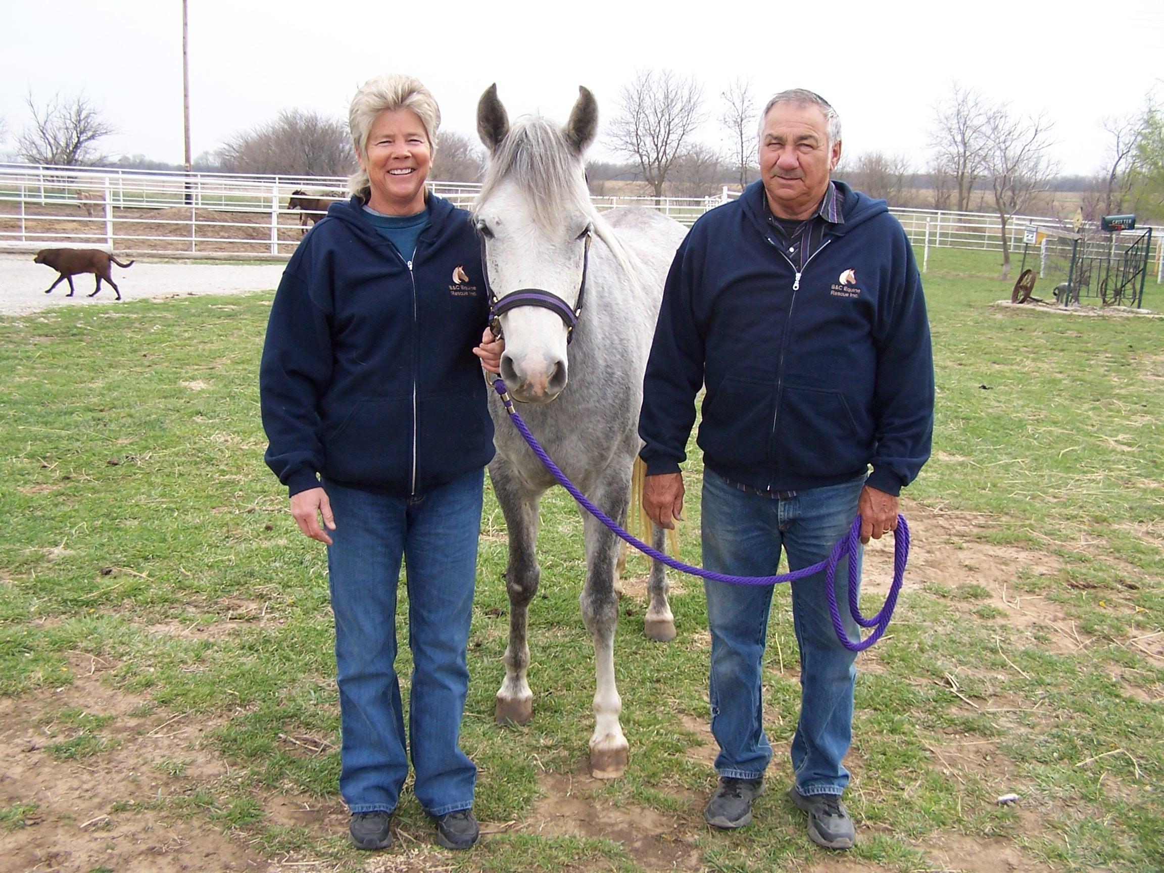 Brenda and Cecil Grimmett