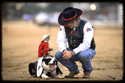 Pro Rodeo Entertainer of the Year Whiplash the Cowboy Monkey will perform all three nights of the Kaw Valley Rodeo, July 23-25, at Wells Arena in Cico Park, Manhattan. The talented capuchin monkey herds wild Barbados sheep aboard his trusty border collie, Boogie.