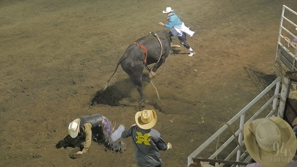 A $1,000 bonus will be awarded to the overall winner of the bull riding event at The BIG 94.5 Country Topeka Rodeo, Friday and Saturday evenings, Aug. 20-21, Topeka. But, considering quality of the mean, rank-bucking, cowboy-eating bulls provided by Silver Creek Rodeo Company, Arkansas City, it won't be an easy check to collect.