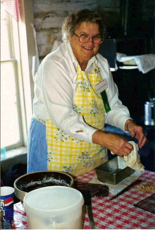 Bread used to be made in the kitchen rather than coming off the grocery shelf, and a homemade bread baking demonstration will be just a sample of home chores of days gone by presented during the Chisholm Trail Festival, Saturday, Oct. 3, in Abilene.