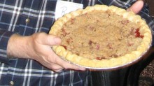 The rancher's wife boasted her pie is the very best in the Flint Hills. But in reality, it'll be up to the 'celebrity judges' at the 'Pie to the People' Pie Contest in conjunction with the Flavors of the Flint Hills benefit for Matfield Green's prairie education center Pioneer Bluffs on Saturday, Sept. 12, at Cottonwood Falls.