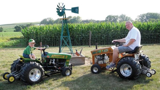 Which tractor is the most powerful will be answered during the pulling competition just a sampling of the many attractions set for Saturday, April 30, at the Vintage Garden Tractor Show And Pull.