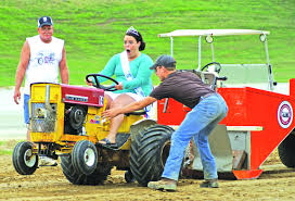 Young and more mature, they'll all be there driving and showing off their pride and joy power during the Vintage Garden Tractor Show And Pull, Saturday, April 30, at Paola.