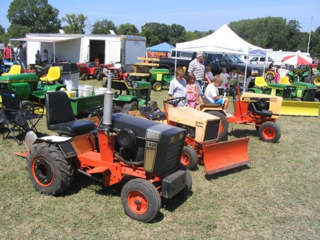 Every color and shape of garden tractor and lawn mower will be on display for the second annual Vintage Garden Tractor Show And Pull, Saturday, April 30, at Paola.