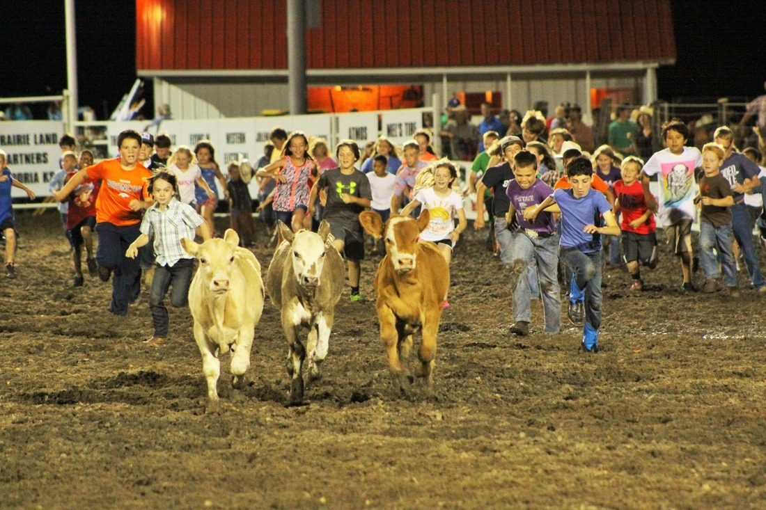 Kids are the future of the sport of rodeo and many features of the Flint Hills Rodeo, June 2-3-4, Strong City, have been planned especially for the younger generation. All performances will include a calf scramble with different age groups each evening.